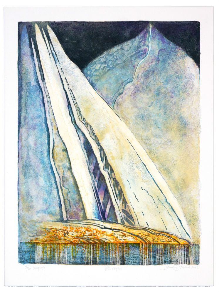 Lithographie Stornes - Ville Kufter
