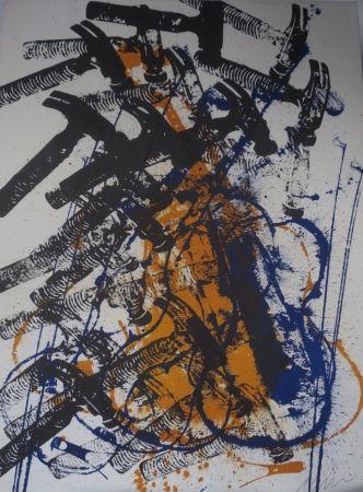 Lithographie Arman - Violon Et Marteaux