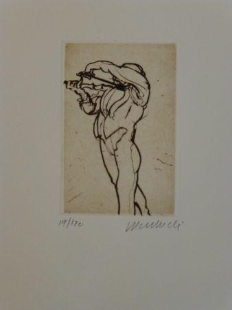 Gravure Weisbuch - Violoniste