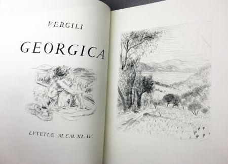 Livre Illustré De Segonzac - VIRGILE : LES GEORGIQUES - GEORGICA. 119 eaux-fotres originales (1944/47)