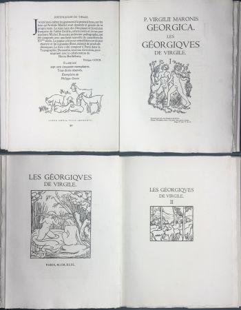 Livre Illustré Maillol - VIRGILE : LES GEORGIQUES. Bois originaux de Maillol (Gonin, 1950)
