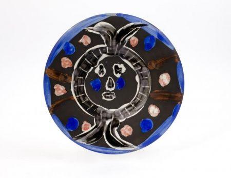 Céramique Picasso - Visage no. 30