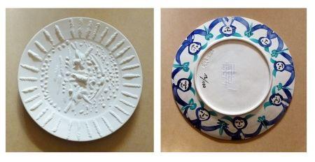 Céramique Picasso - Visage tourmenté