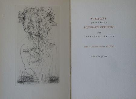 Livre Illustré Wols - Visages