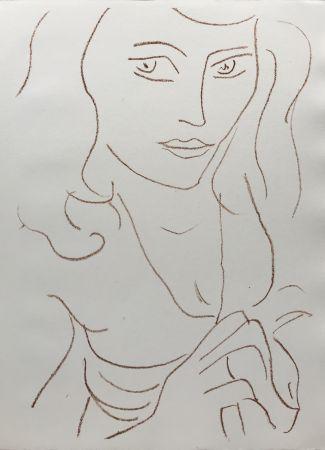 Lithographie Matisse - Visages I