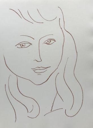 Lithographie Matisse - Visages II