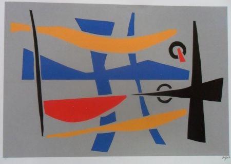 Sérigraphie Jacobsen - Visions Sculpturales II
