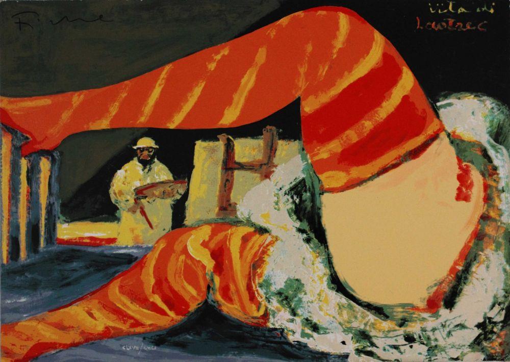 Sérigraphie Fiume - Vita di Lautrec