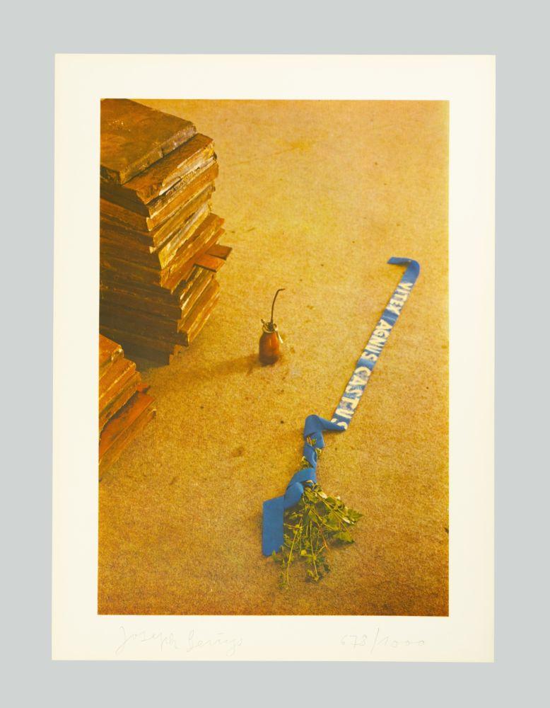 Lithographie Beuys - Vitex agnus castus