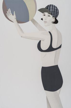 Sérigraphie Katz - Vivien, from Chance