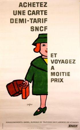 Lithographie Savignac - Vogagez à Moitié Prix