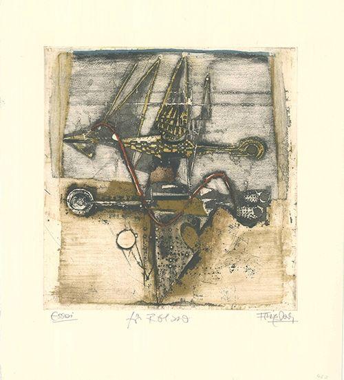 Eau-Forte Et Aquatinte Friedlaender - Vol d'oiseaux