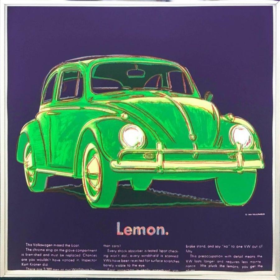 Sérigraphie Warhol - Volkswagen (FS II.358)