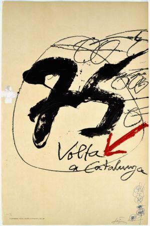 Lithographie Tàpies - Volta a Catalunya