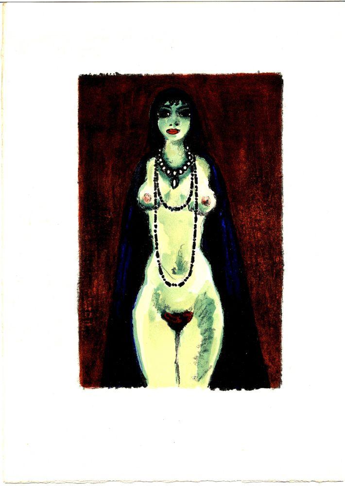 Livre Illustré Van Dongen - Voltaire : LA PRINCESSE DE BABYLONE. 48 lithographies en couleurs (1948)