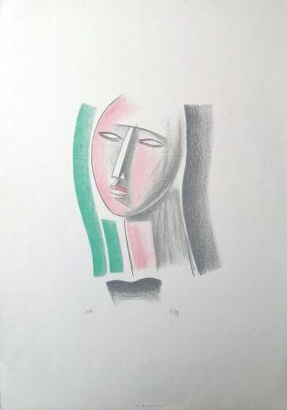 Lithographie Tozzi - Volto