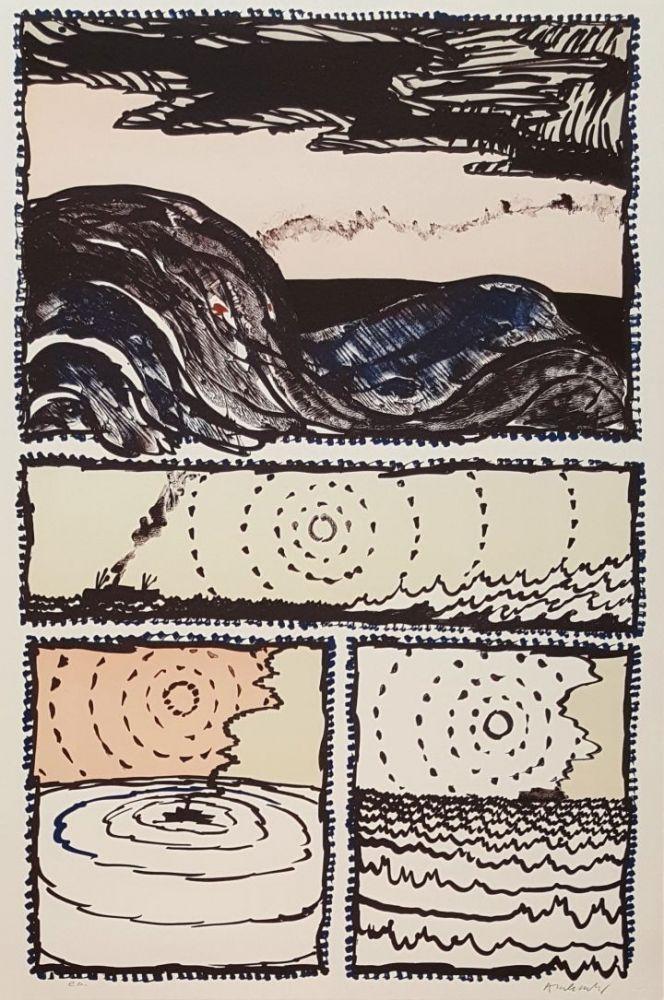 Lithographie Alechinsky - Volturno