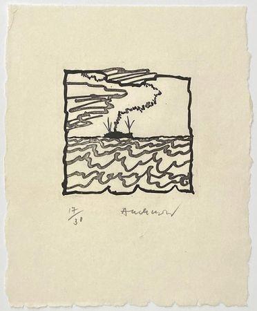Gravure Alechinsky - Volturno
