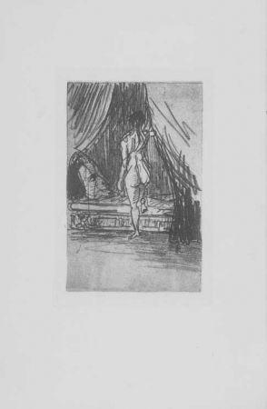 Gravure Redon - Volupté, fantome elastique