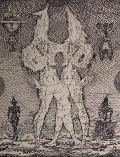 Eau-Forte Coutaud - Voyage dans la lune 1