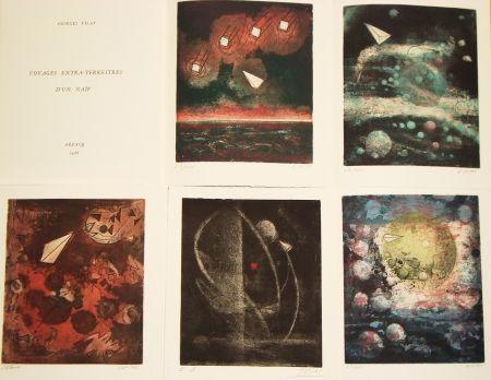Livre Illustré Visat - Voyages extra-terrestres d'un naïf