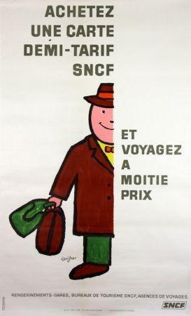 Lithographie Savignac - Voyagez à Moitié Prix