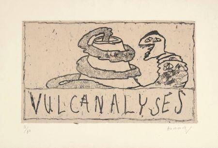 Gravure Alechinsky - Vulcanalyses