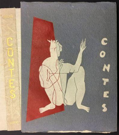 Livre Illustré Laurens - W. SAROYAN : CONTES. illustré de bois originaux par Henri Laurens.