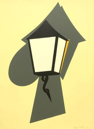 Sérigraphie Caulfield - Wall Lamp