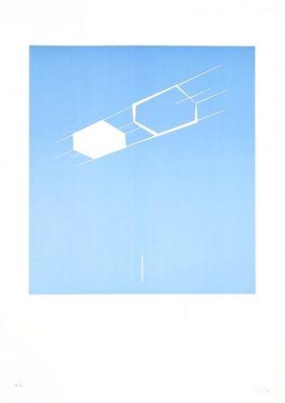 Lithographie Caldas - Waltercio Caldas WC 56 8