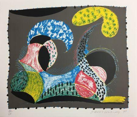 Sérigraphie Hockney - Warm Start