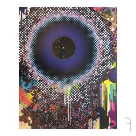 Estampe Numérique Murakami - Warp