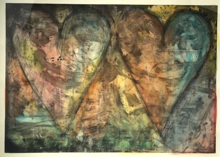 Aucune Technique Dine - Watercolored By Jim Dine