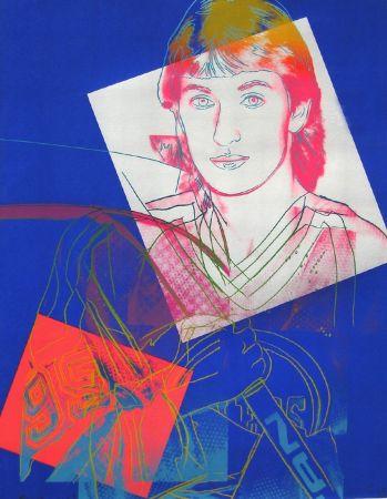 Sérigraphie Warhol - Wayne Gretzky (FS II.306)