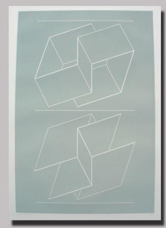 Linogravure Albers - Weg IX