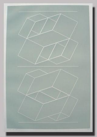 Linogravure Albers - Weg VI