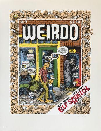 Sérigraphie Crumb - Weirdo, 1986