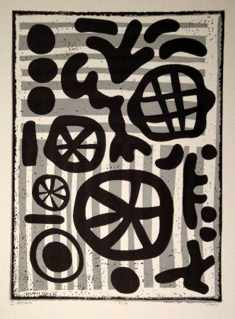 Linogravure Nebel - Werknummer 595/1964