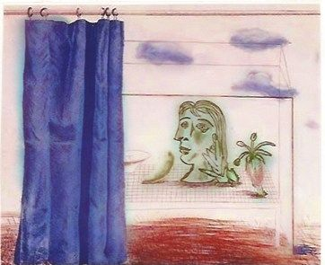 Gravure Hockney - What is this Picasso?