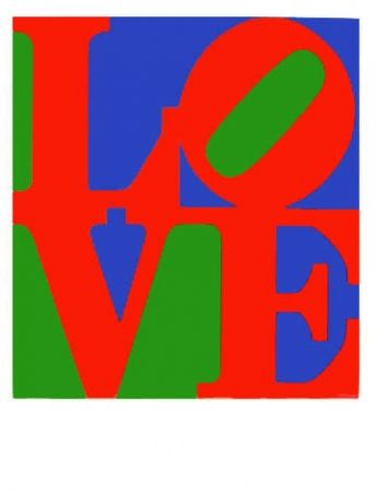 Sérigraphie Indiana - Wherefore the Punctuation of the Heart from The Book of Love