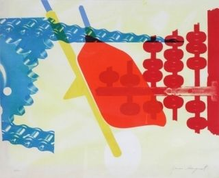 Sérigraphie Rosenquist - Whipped butter for Eugen Ruchin