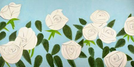 Lithographie Katz - White Roses