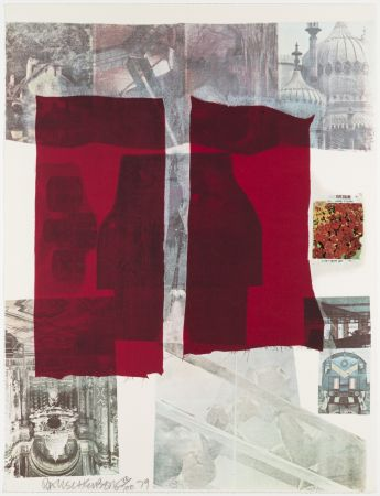 Sérigraphie Rauschenberg - Why You Can't Tell