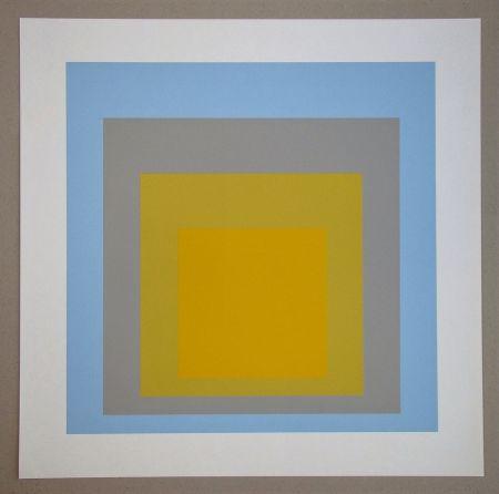Sérigraphie Albers - Wide Light, 1962