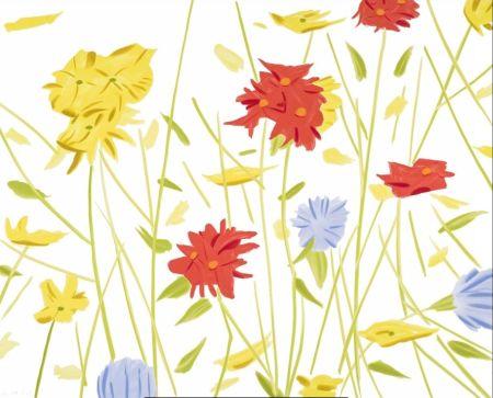 Sérigraphie Katz - Wildflowers
