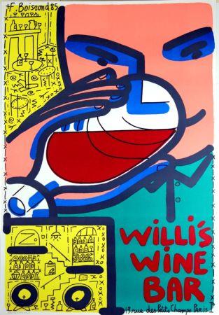 Lithographie Boisrond - Willis Wine Bar