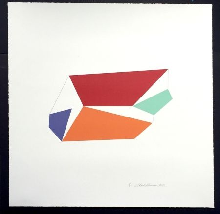 Sérigraphie Hinman - Wind, from Kites Suite