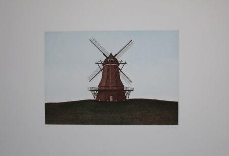 Eau-Forte Et Aquatinte Moritz - Windmühle