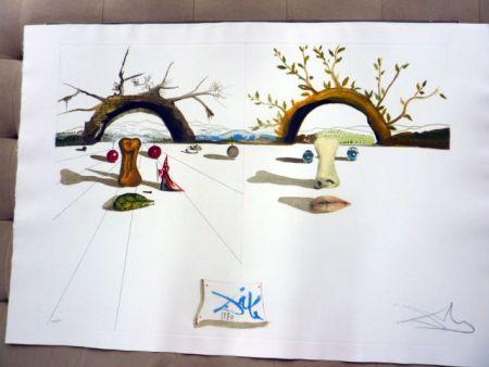 Gravure Dali - Winter And Summer