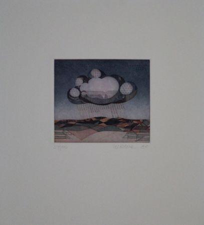 Eau-Forte Et Aquatinte Franke - Wolke